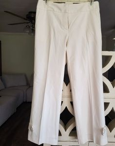 Trina Turk white cropped pants